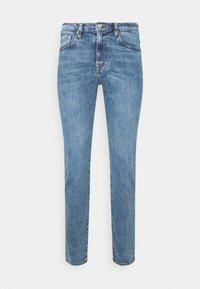 MENS - Slim fit jeans - light-blue denim