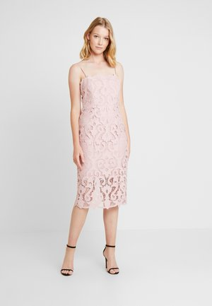 LINA DRESS - Sukienka koktajlowa - dusty pink