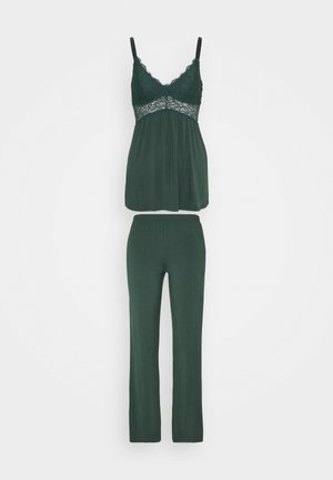 VERA SET - Pyjamaser - darkest spruce