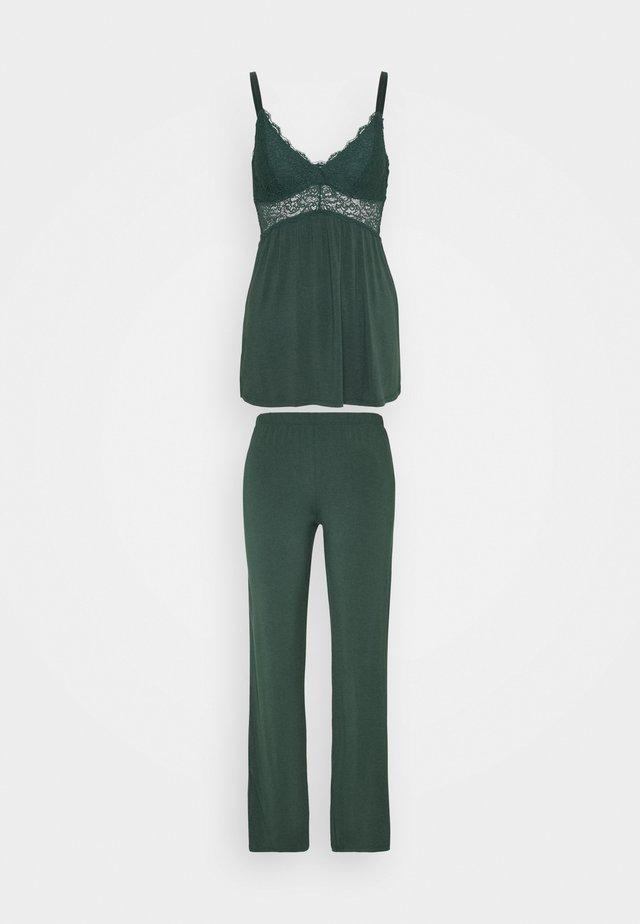 VERA SET - Pyjama - darkest spruce