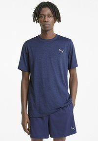 Puma - FAVOURITE HEATHER - Sports shirt - elektro blue heather - 0