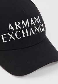 Armani Exchange - BASEBALL HAT - Casquette - black - 5