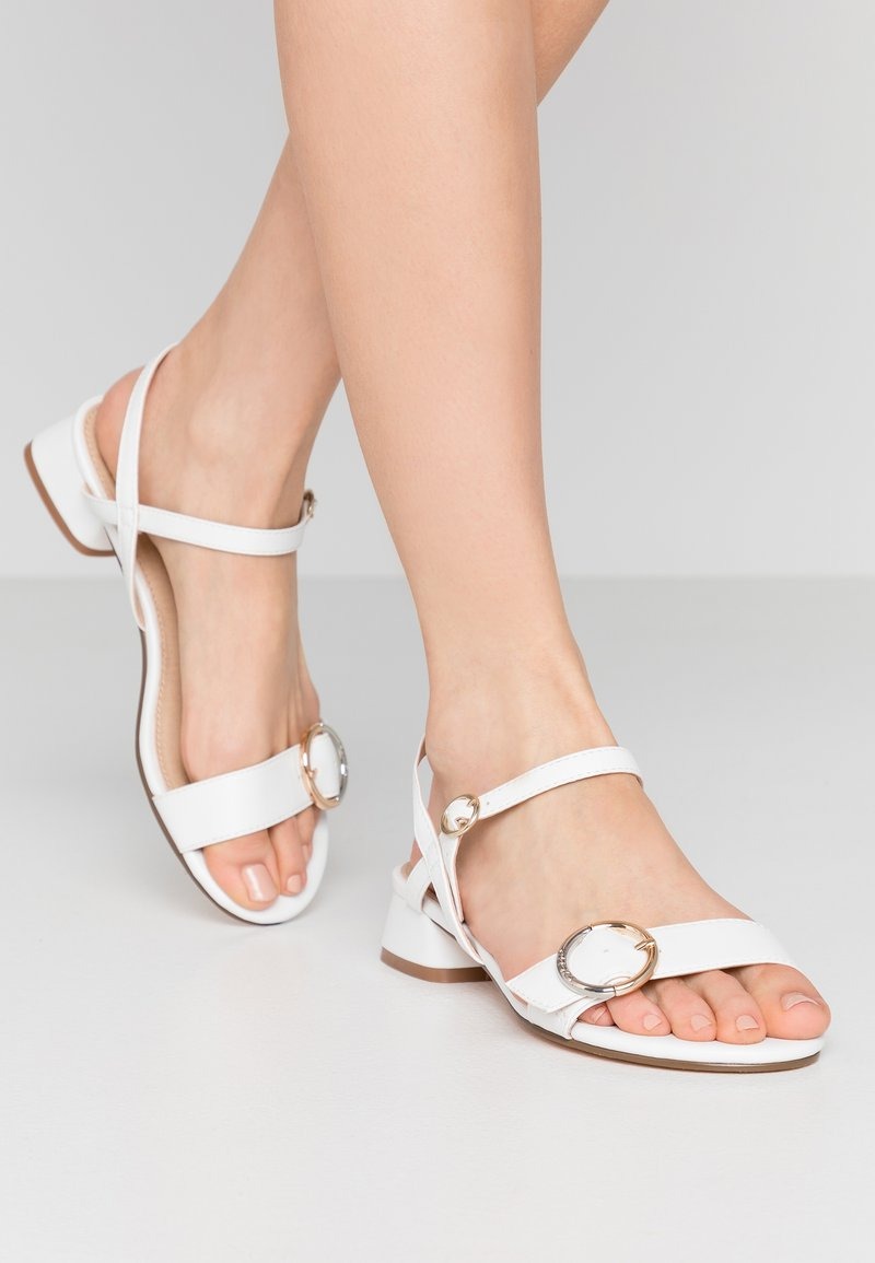 Office Wide Fit - MARYLOU - Sandals - white