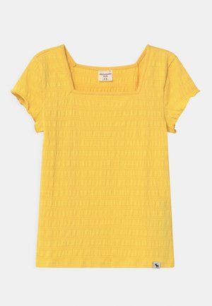 SMOCKED - T-shirt print - yellow