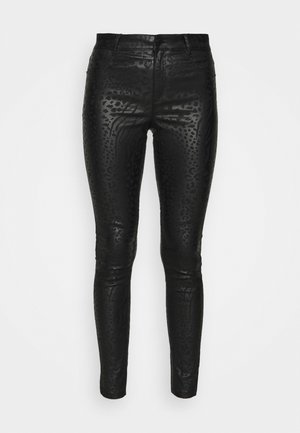 ANIMAL PATCH COATED FRANKIE - Jeans Skinny Fit - black