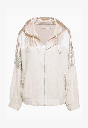 GLORIA - Summer jacket - oat melange