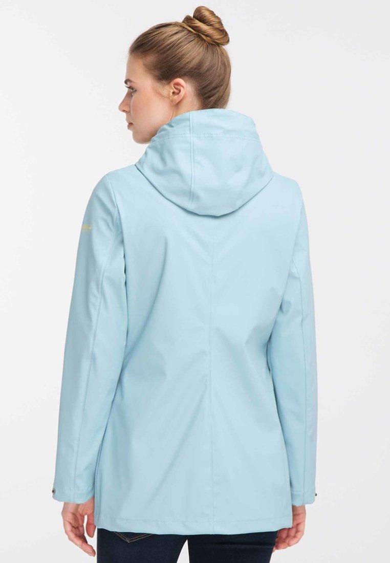 2020 Women's Clothing Schmuddelwedda Waterproof jacket light blue 5de2lizMF