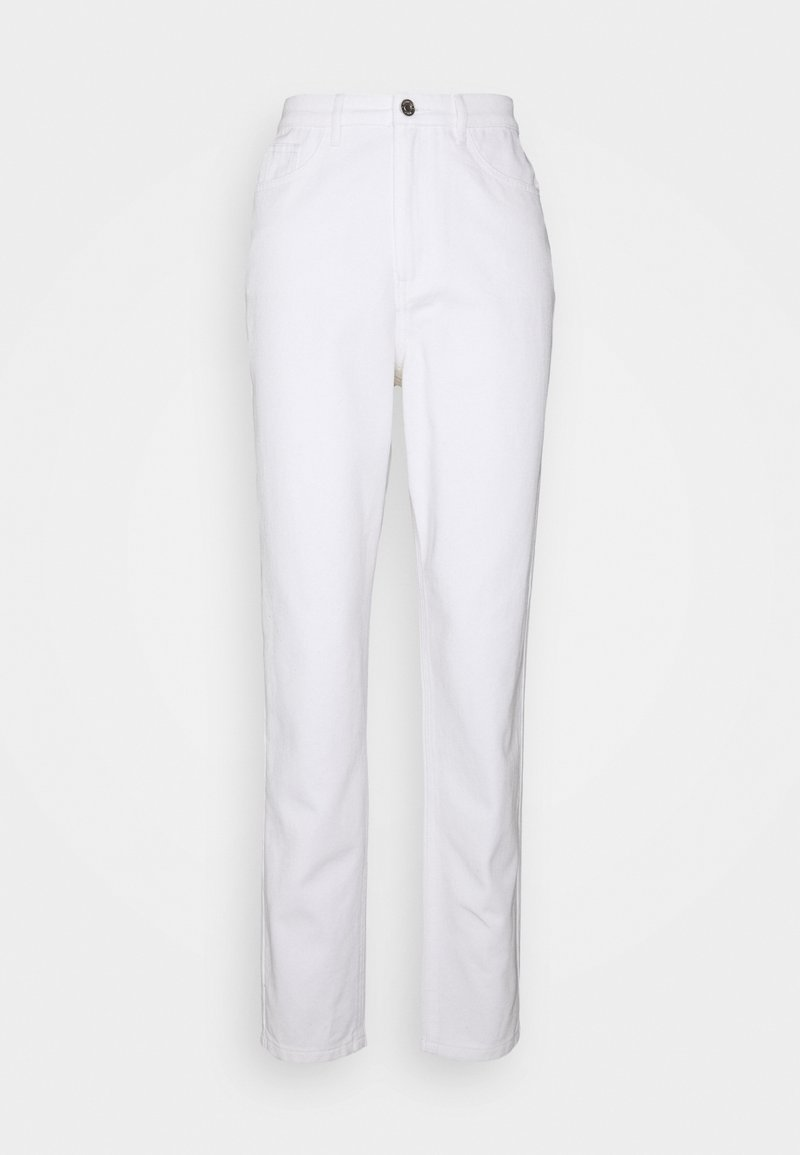 Missguided Tall - Straight leg jeans - white