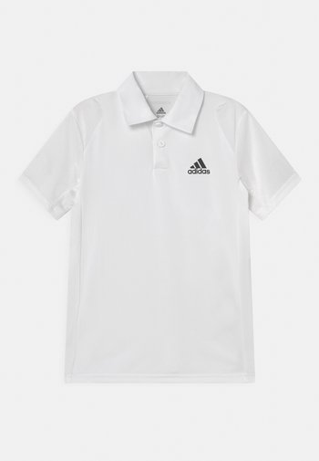 CLUB POLO UNISEX - Polo shirt - white/black
