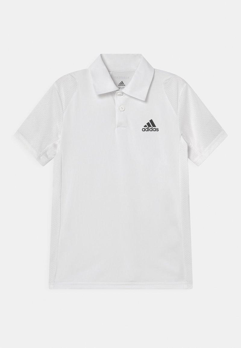 adidas Performance - CLUB POLO UNISEX - Polo shirt - white/black