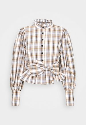 CHELLO - Button-down blouse - beige