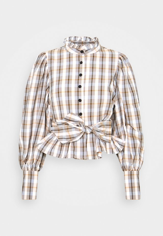 CHELLO - Button-down blouse - beige