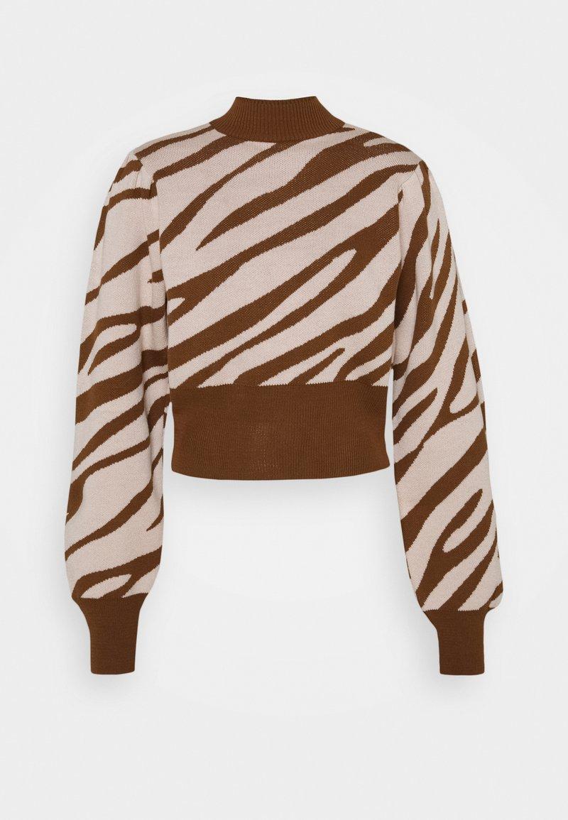 Trendyol - KAHVERENGI - Pullover - brown