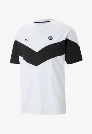 BMW TEE - T-shirt print - puma white