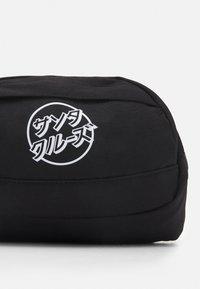 Santa Cruz - OPUS JAPANESE DOT WAISTPACK UNISEX - Bum bag - black - 3