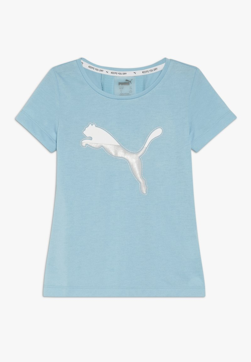 Puma - ACTIVE SPORTS TEE  - Print T-shirt - milky blue