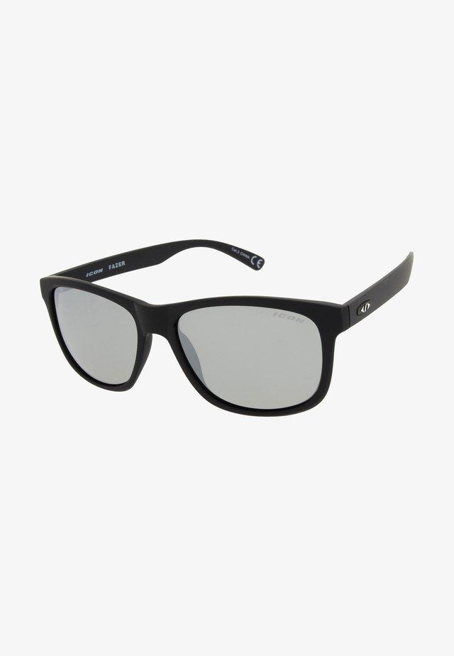 FAZER - Sportsbriller - black / Silver