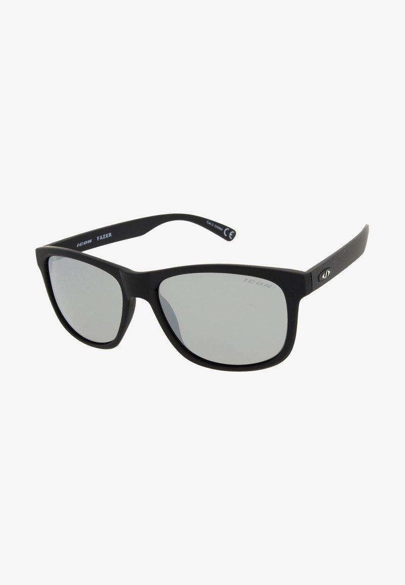 Icon Sport - FAZER - Sportbrille - black / Silver