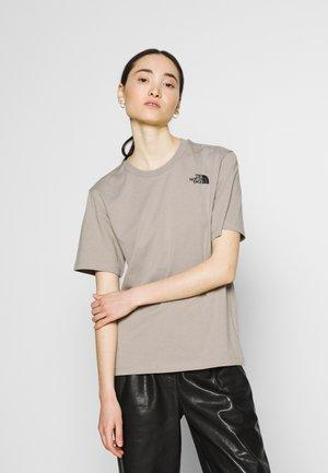 REDBOX TEE - Print T-shirt - mineral grey