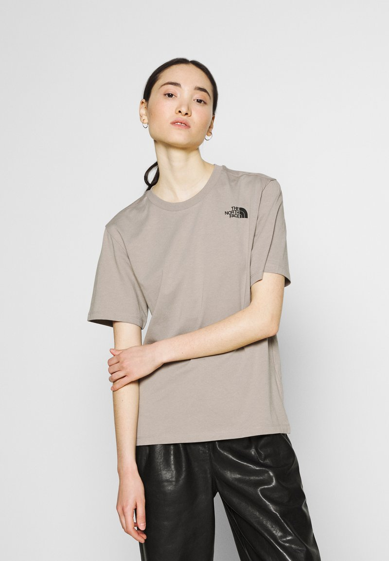 The North Face - REDBOX TEE - T-shirts med print - mineral grey