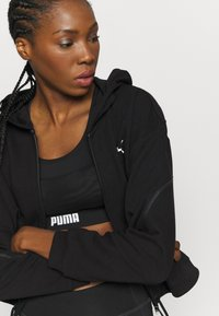 Puma - FULL ZIP HOODIE - Sweatjacke - black - 3