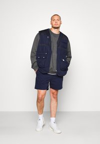 Another Influence - Shorts - navy - 1