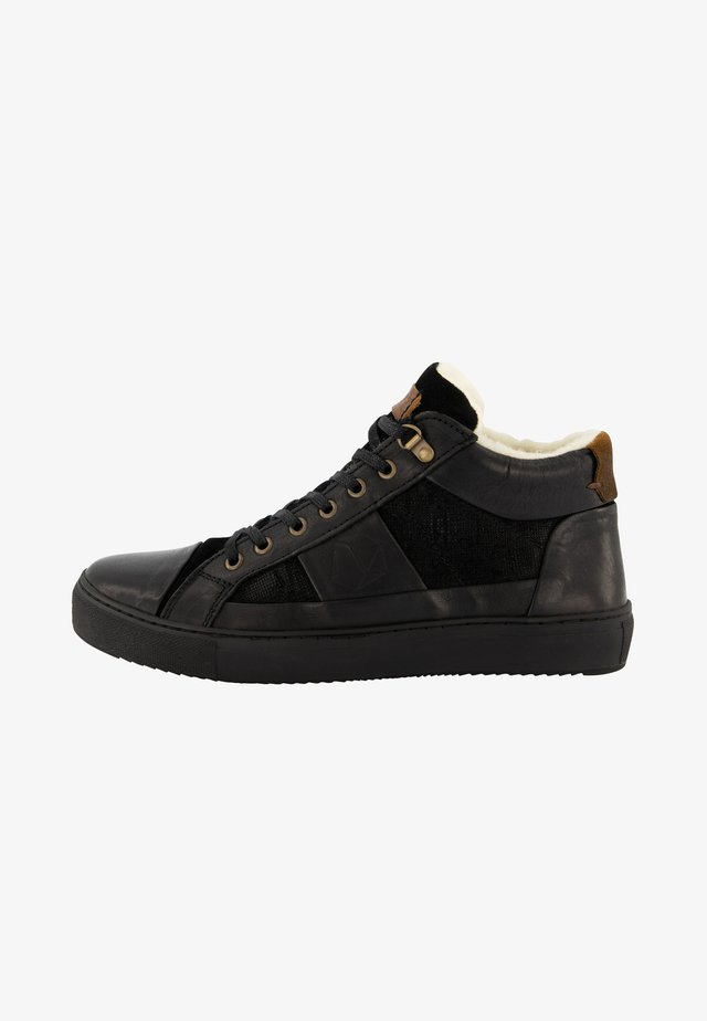 P.DACORTONA - Sneakers laag - black