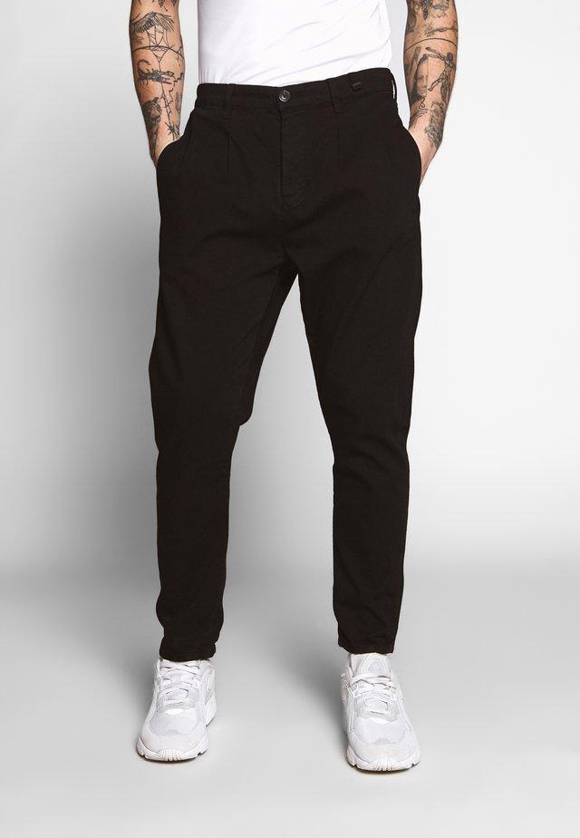 FIRENZE PANT - Pantalon classique - black