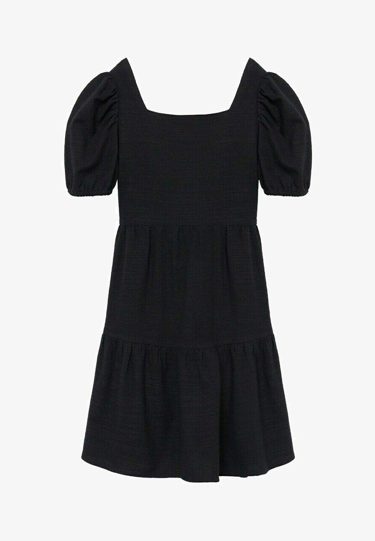 Mango - Denní šaty - black