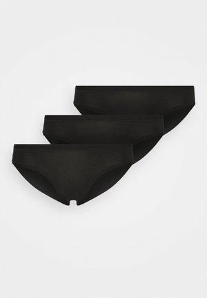BRIEF 3 PACK - Kalhotky - black