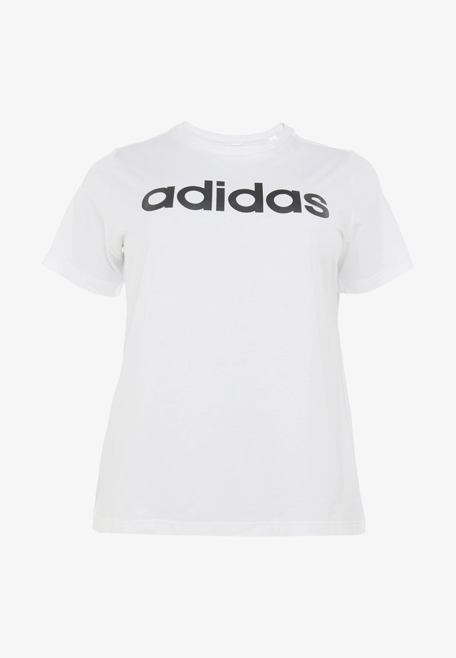 T-shirt con stampa - white/black