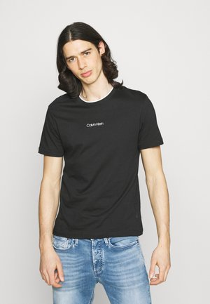 CENTER LOGO - Basic T-shirt - black