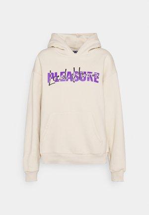 PLEASURE HOODIE - Sweater - beige