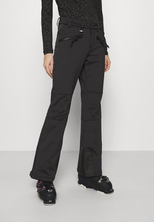 SLALOM SLIM - Snow pants - black