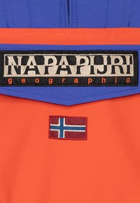 Napapijri - RAINFOREST SUMMER CB - Waterproof jacket - orangeade - 2