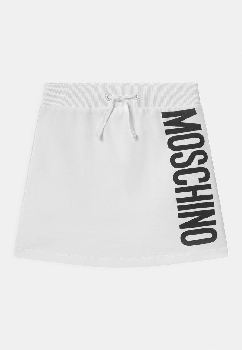 MOSCHINO - Minisukně - optic white
