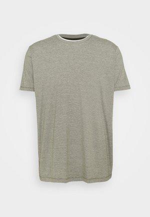 Print T-shirt - dark khaki
