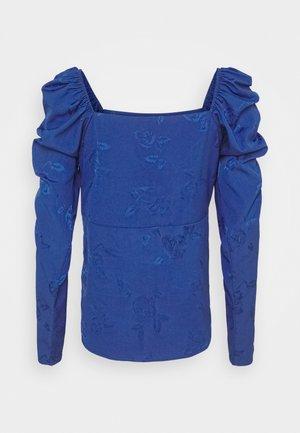 LISACRAS BLOUSE - Blouse - mazerine blue