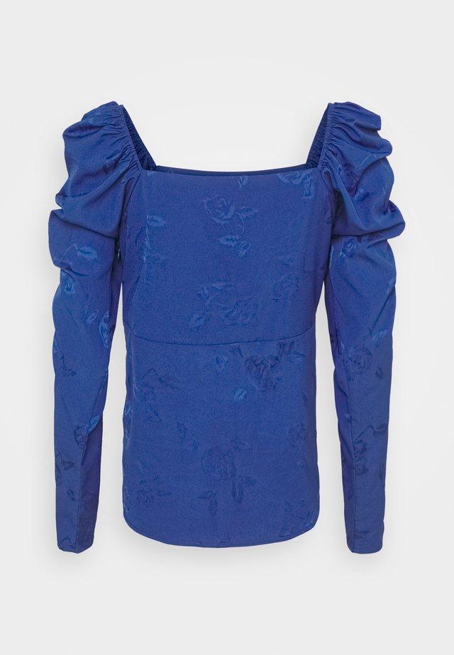 LISACRAS BLOUSE - Pusero - mazerine blue