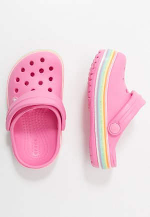 CROCBAND RAINBOW GLITTER  - Pool slides - pink lemonade