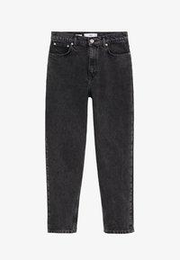 Mango - MOM - Slim fit jeans - black - 6