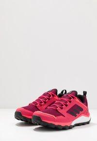 adidas Performance - TERREX AGRAVIC TR GTX - Trail running shoes - power pink/core black/footwear white - 3