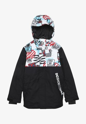 DEFY YOUTH - Winter jacket - white/mini play print