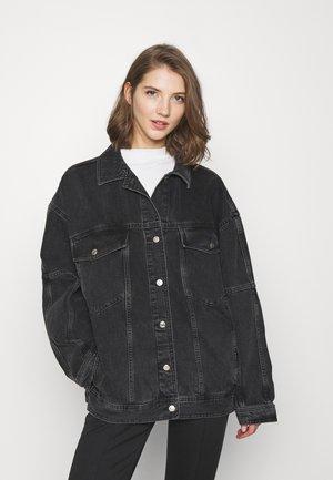 DAD - Denim jacket - washed black