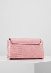 Guess - UPTOWN CHIC MINI XBODY FLAP - Across body bag - pink - 3