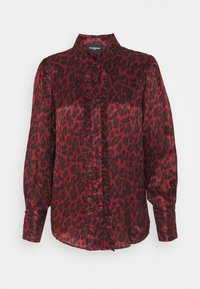 The Kooples - CHEMISE LEOPARD - Blůza - purple - 0