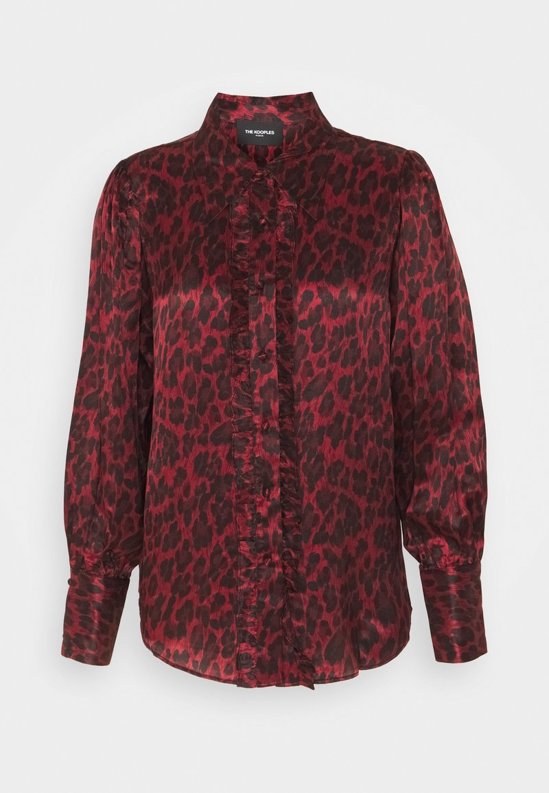 The Kooples - CHEMISE LEOPARD - Blůza - purple