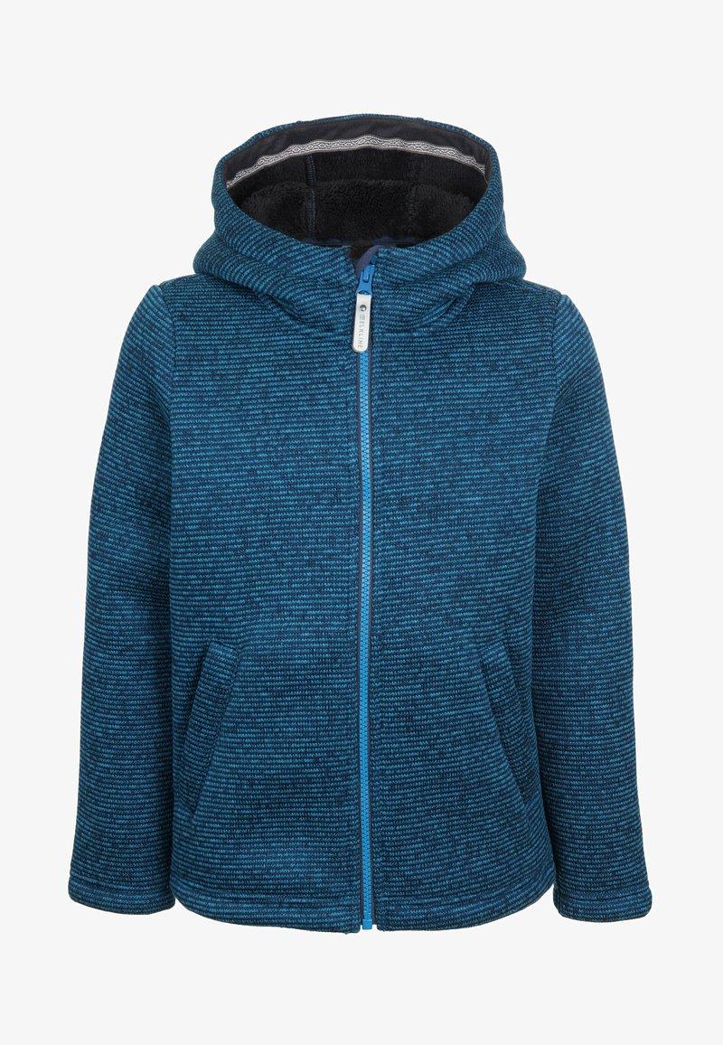 Elkline - LITTLE STRANGER - Fleece jacket - blueshadow