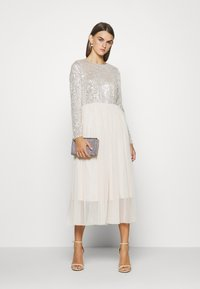 Vero Moda - VMMADDIE LONG DRESS - Vestido de fiesta - oatmeal