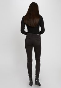 Morgan - STANDARD WAISTED SKINNY TROUSERS - Jeans Skinny Fit - black - 2